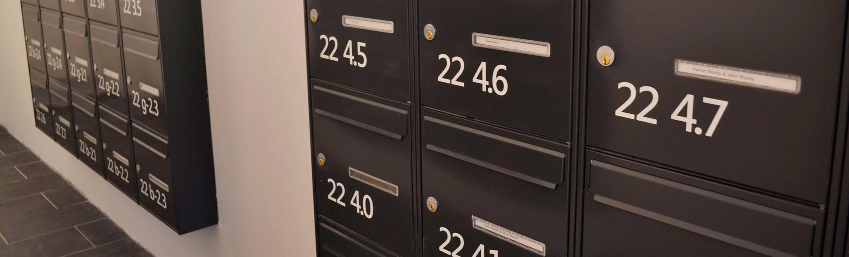 standard postkasseanlæg