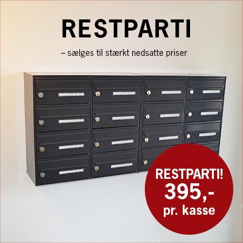 EP Basic restparti 1 - EP Basic - Det enkle og driftssikre postkasseanlæg