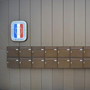 handelsbanken væghængte postkasser