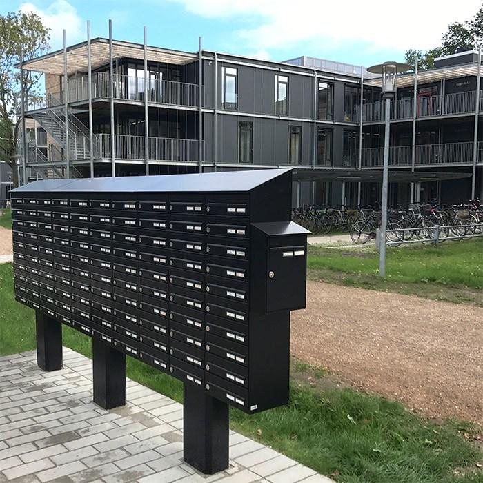 Postkasseanlæg på stander