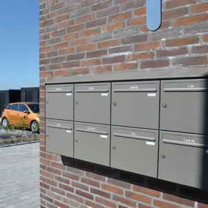 Himmelev have postkasseanlæg