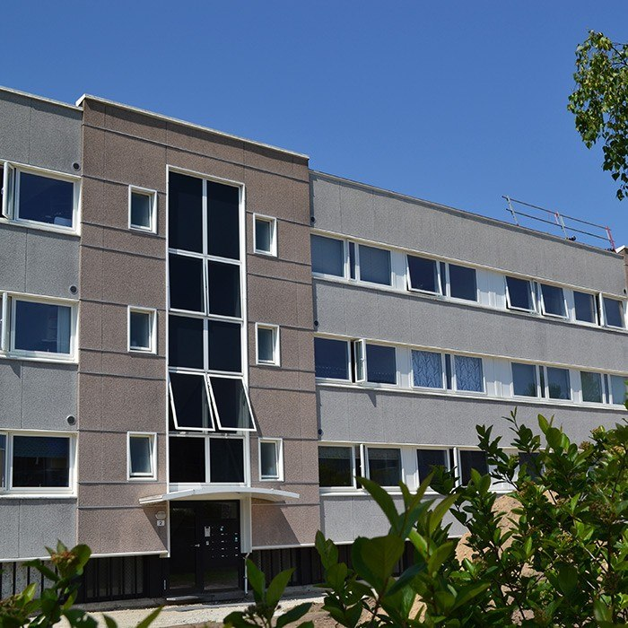 Houlkaervaenget facade - Houlkærvænget