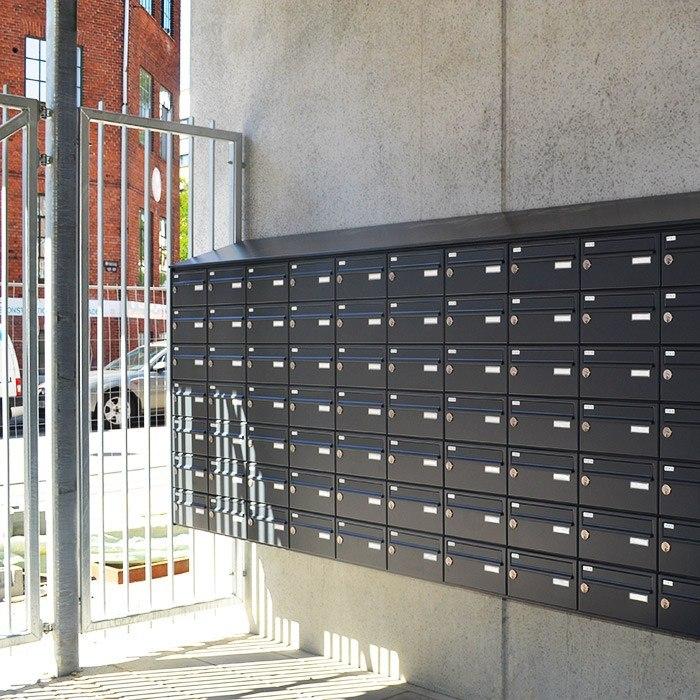 Laerkevej postkasser - Lærkevej ungdomsboliger