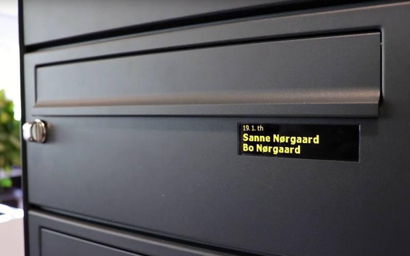 digitalt navne-display