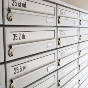 postkasse gravering